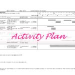 活動計画表、提出しました